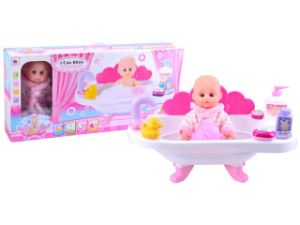 12 Inch Plastic Lovely Baby Doll with Bath Tub (10233075) pictures & photos
