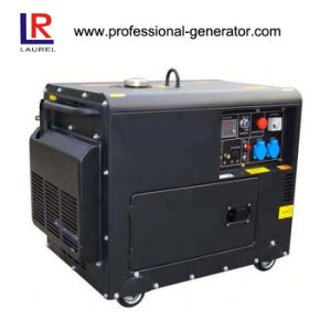 Electric Start 5kw Silent Diesel Generator pictures & photos
