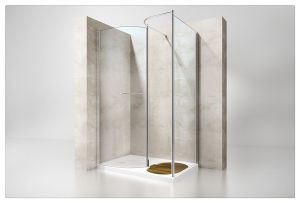 8mm Security Glass Walk-in Shower Enclosure pictures & photos