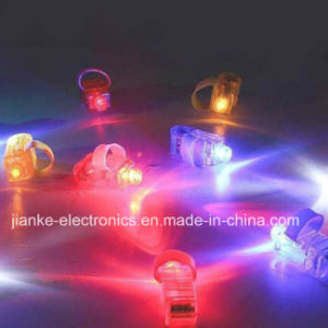 Promotional LED Party Laser Finger Light with Logo Print (4012) pictures & photos