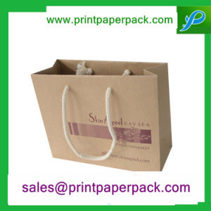 Bespoke Fashion Kraft Paper Bag with Custom Logo Printing pictures & photos