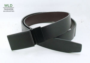 Classic and Basic Man Belt with Split Leather Linning M716 pictures & photos