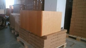 Guanjia Wooden Morden Kitchen Cupboards Kc-029 pictures & photos
