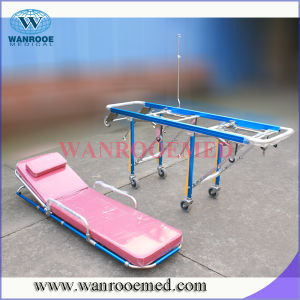 Ea-3A3 Fully-Automatic Ambulance Stretcher with Double Layer pictures & photos