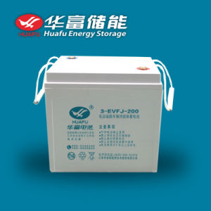 6V 200ah EV Use Ce Approved Gel Battery pictures & photos