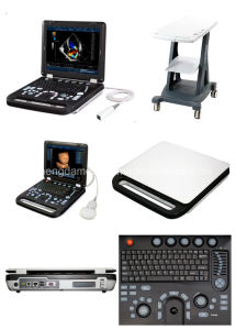 Ce Approved Laptop Medical Imagining Facilities Color Doppler Ultrasound pictures & photos