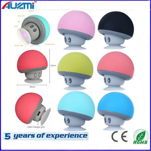 Mini Colorful Portable Wireless Bluetooth Speaker with Mushroom Style