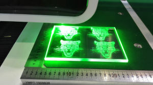 Glass & Ctystal Inner Engraving Gift Green Laser Engraver pictures & photos