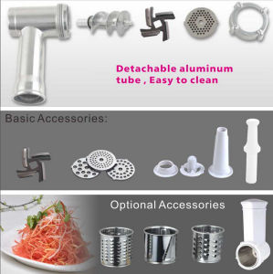 Multiple Function Stainless Steel Meat Grinder, Meat Mincer pictures & photos