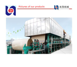 Double-Dryer Can and Multi-Cylinder Kraft Paper Machine (1880MM) pictures & photos