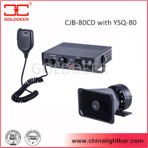 80W Police Car Electronic Siren with Speaker (CJB-80CD) pictures & photos