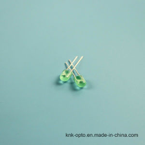 5mm Oval Green Diffused LED pictures & photos