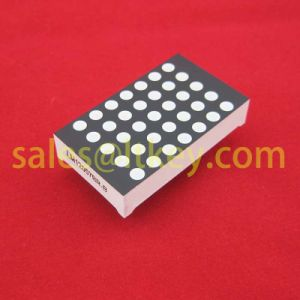 1.2 Inch 5X7 LED DOT Matrix with Gaps pictures & photos