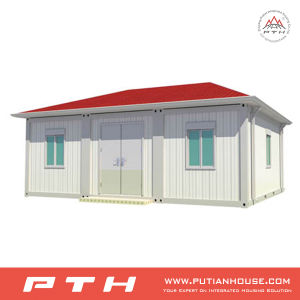 ISO Standard Prefabricated Container Home with Bedroom, Bathroom and Kitchen pictures & photos
