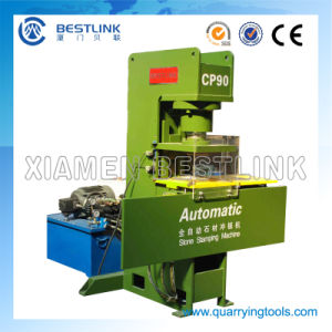 Automatic Pressing Stone Waste Recycling Machine with 40 Stamping Dies pictures & photos