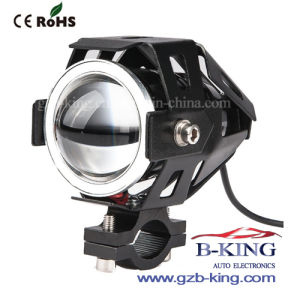New Design U7 Motorcycle LED Lights with Angel Eye pictures & photos