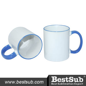 Bestsub Sublimation 11 Oz Rim Handle Mug (B11B-07) pictures & photos