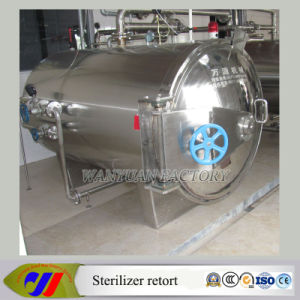 Ss Steam Heating Autoclave Sterilizer for Packaged Food pictures & photos