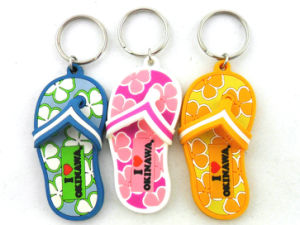 Foot Shaped Keychain Rubber Custom pictures & photos