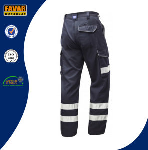 Wholesale Cheap Mens Polycotton Cargo Trousers with Side Pockets pictures & photos