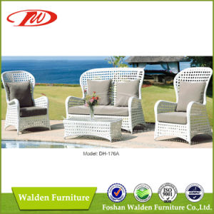 Outdoor High Back Rattan Sofa (DH-176A) pictures & photos