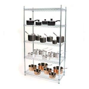 Metal Chrome Restaurant Kitchen Wire Rack pictures & photos