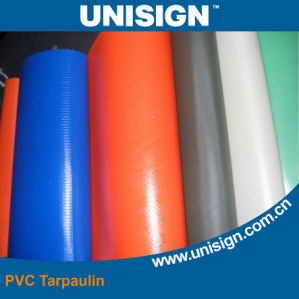 610g Anti-UV PVC Tarpaulin for Truck Cover (UCT1122/610) pictures & photos