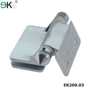 Square Post to Glass Angle Heavy Duty Hinge pictures & photos