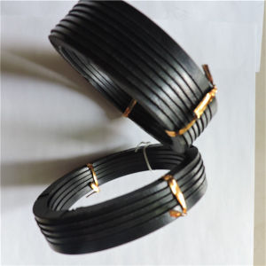 NBR/FPM Material Vee Fibre Hydraulic Oil Seal for Piston Rod pictures & photos
