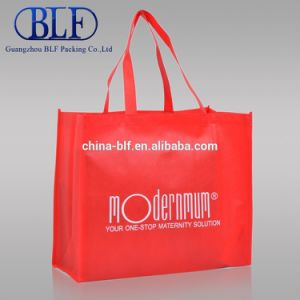 Custom Shoulder Cotton Non Woven Promotional Shopping Tote Bag Canvas Bag (BLF-NW246) pictures & photos