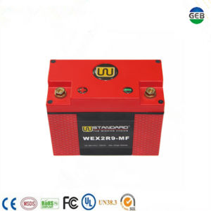 CE/UL Approved High Efficiency High Safety Low Temperature Motorcycle Starter Battery pictures & photos