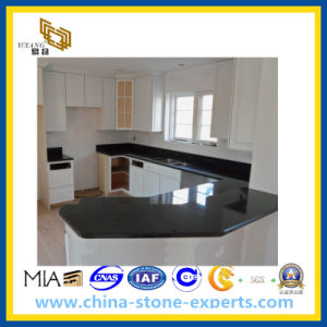 Black Galaxy Granite Countertop for Kitchen and Bathroom (YY) pictures & photos