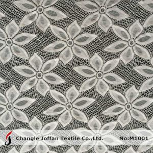 Fashion Floral Lace Fabric for Dress (M1001) pictures & photos