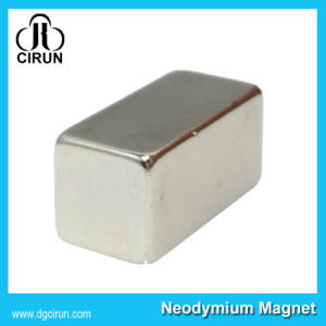 Custom Size NdFeB Permanent Rare Earth Electric Bar Magnet pictures & photos