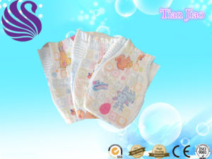 Super Soft High Absorption Nice Disposable and Sleepy Baby Diaper pictures & photos