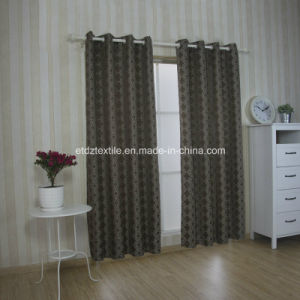Modern Fashionable Curtain Pattern in Jacquard Window Curtain pictures & photos