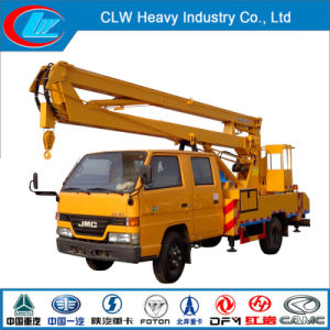 Jmc 16m Aerial Platform Truck with Articulated Boom Lift pictures & photos