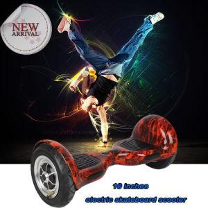 Two Wheels 10 Inches Electric Mobility Scooter Self-Balancing Skateboard E-Scooter pictures & photos