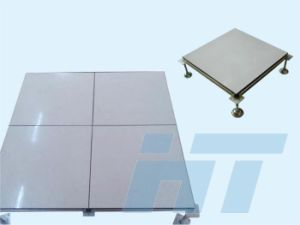 600X600mm Access Floor System in Ceramic Finish (cementish) pictures & photos