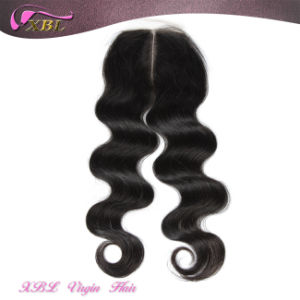 Xbl Middle Parting Closure Virgin Peruvian Hair Lace Closures pictures & photos