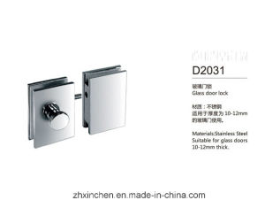 Xc-D2031 High Quality Furniture Hardware Stainless Steel Glass Door Lock pictures & photos