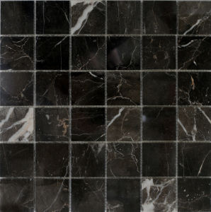 Dark Brown Marble Mosaic, Mosaic Tiles and Stone Mosaic pictures & photos