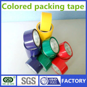 Weijie Hot Sell Strong Adhesive BOPP Packing Tape Colored Packing Tape pictures & photos