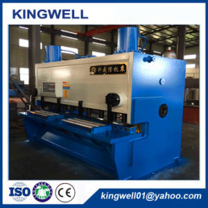 10′ Length Shear Machine for Stainless Steel Sheet Plate Cutting pictures & photos