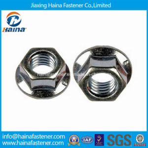 DIN1667 Stainless Steel All-Metal Hex Flange Lock Nut (STOCK) pictures & photos