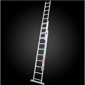 3 Parts Multi-Purpose Aluminum Extension Firefighting Ladder pictures & photos
