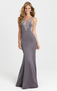 Sheer Jewelry Party Formal Gowns Mermaid Bridesmaid Evening Dresses Mj16428 pictures & photos