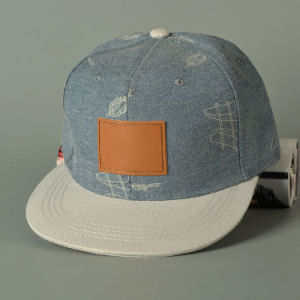 New Style High Denim Snapback Cap pictures & photos