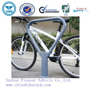 2015 Hot Sale Bollard Type Bike Rack for One Bike (ISO Approved) pictures & photos