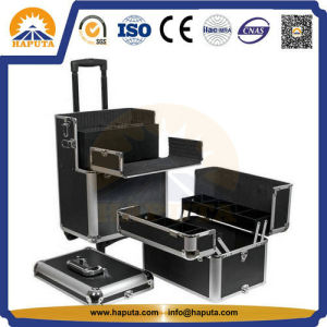 Large Aluminum Cosmetic Beauty Cases for Salon (HB-3313) pictures & photos
